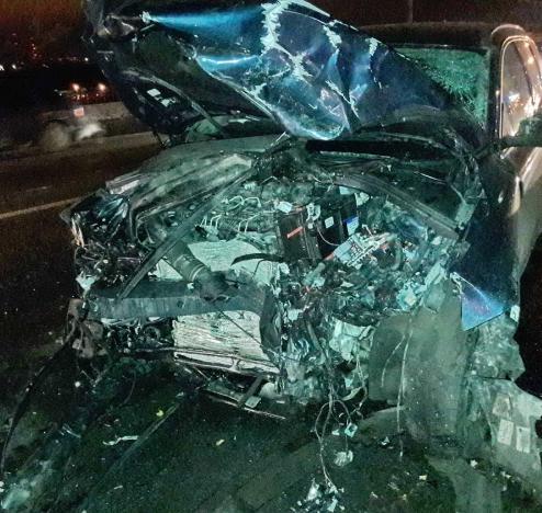 Виновник смертоносного ДТП наМызинском мосту был внаркотическом опьянении
