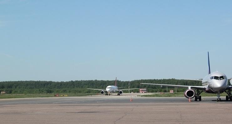 Взлетно-посадочная полоска открылась внижегородском аэропорту после реконструкции