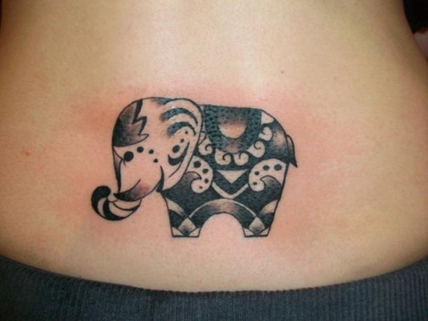 Значение татуировки слон Символика тату