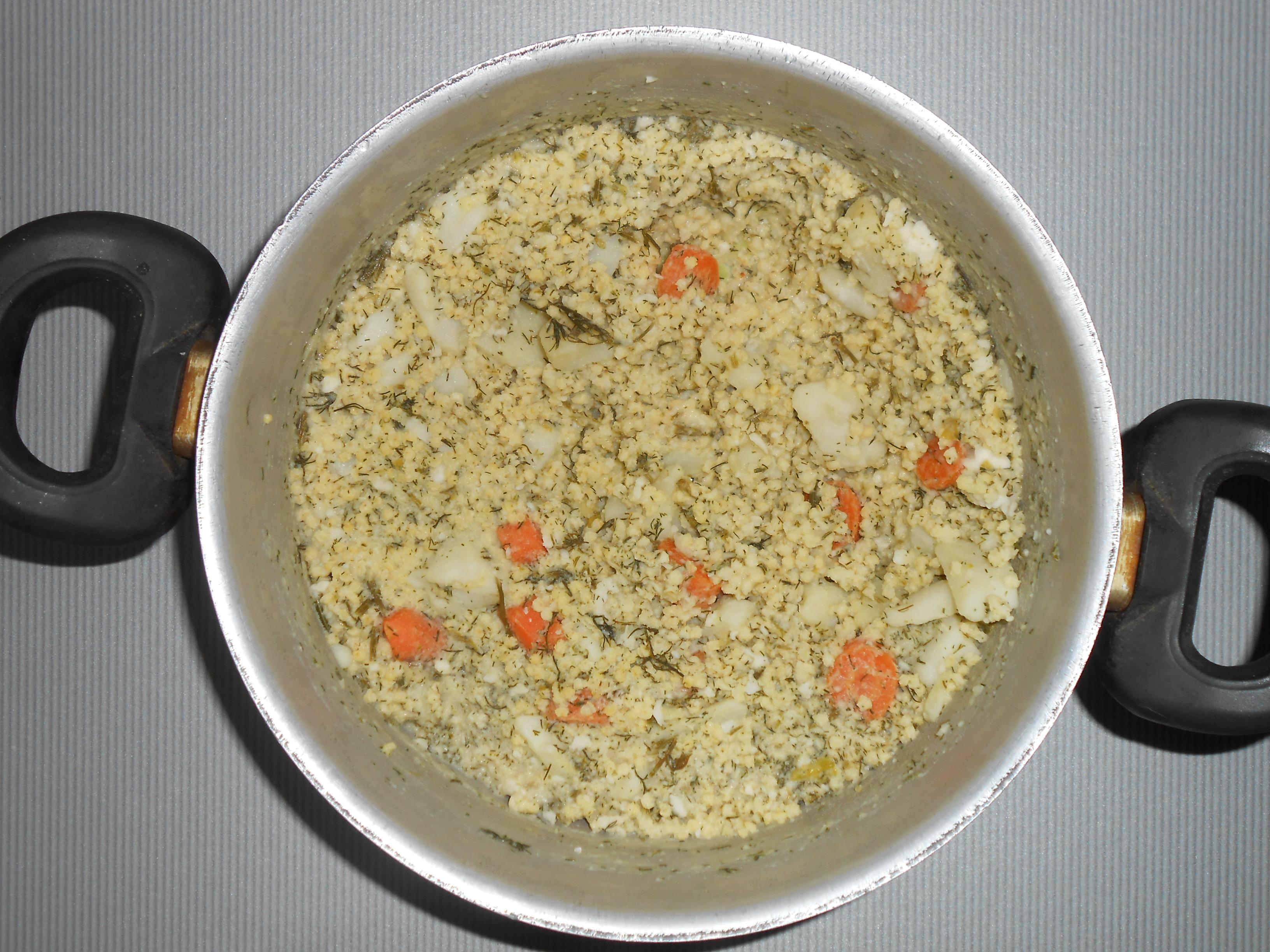 Кулеш с рисом рецепт