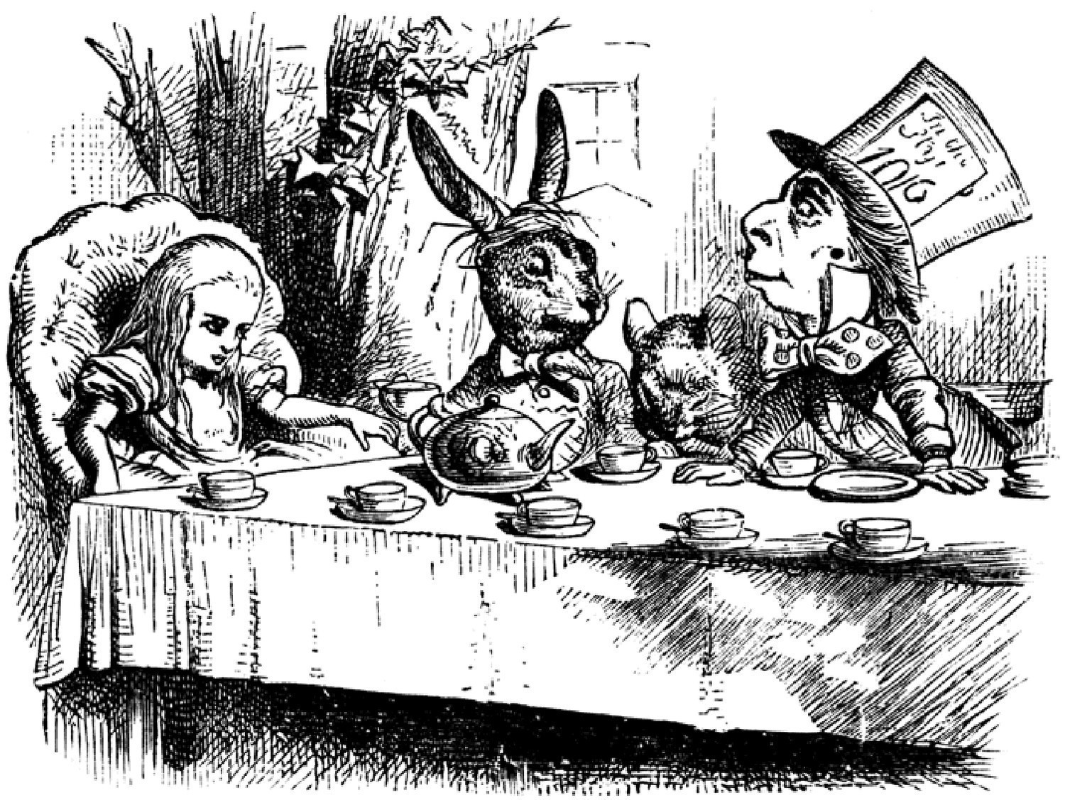 a comparison of the old and new version of lewis carrolls alice in wonderland The author of the alice books, lewis carroll (the pen-name of charles lutwidge dodgson) was a shy math professor at oxford the alice books, sometimes combined or referred to with the abbreviated title alice in wonderland, have been adapted numerous times into films (both live action and.