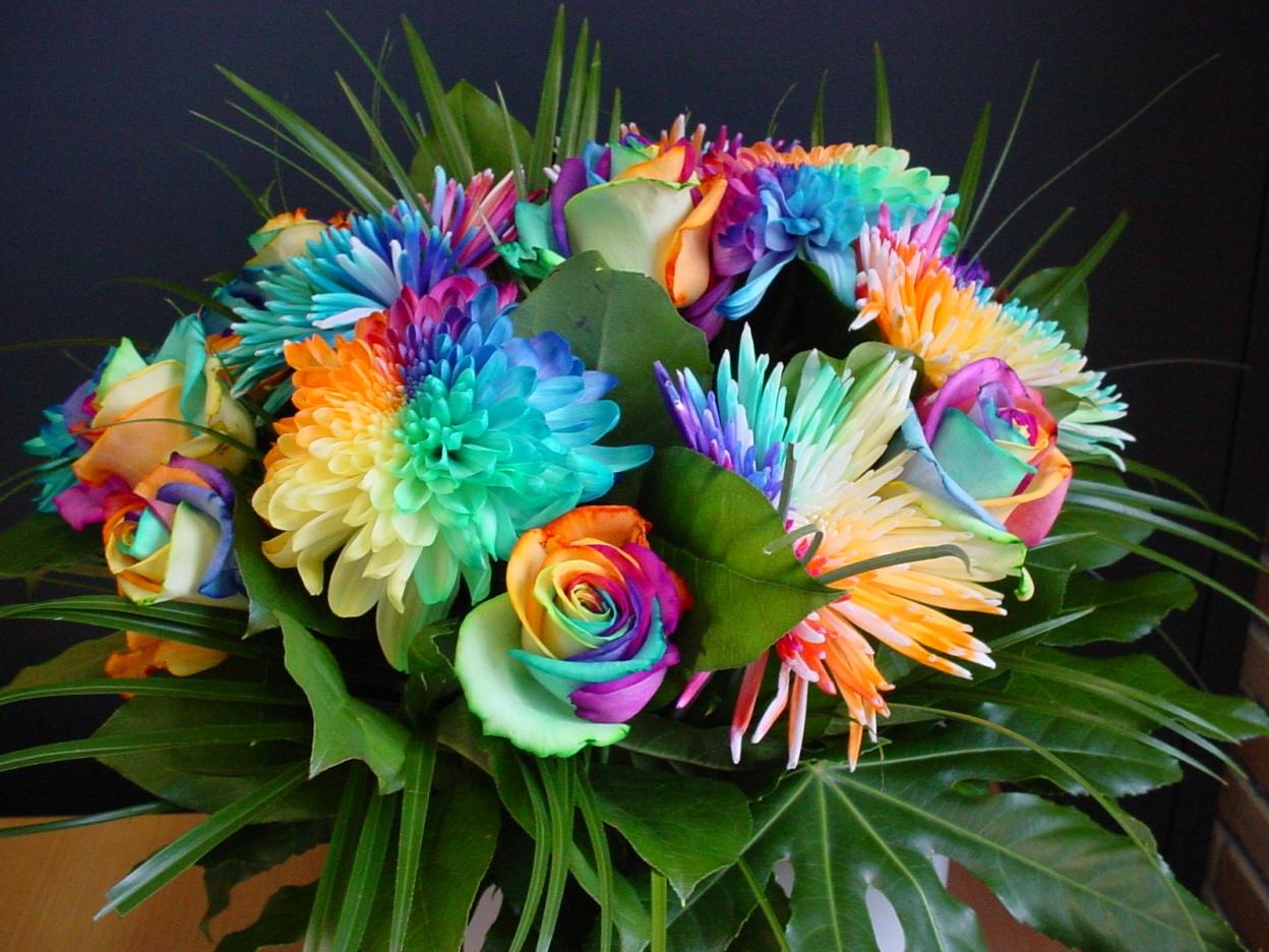 Конкурсы про цветы с цветами