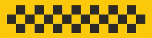 шашечки такси картинка
