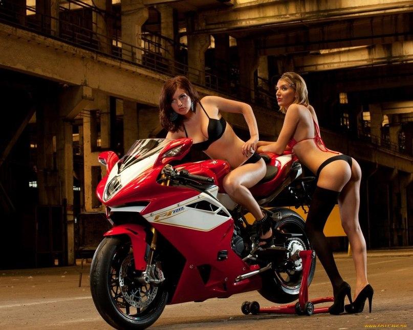 картинки на рабочий стол мотоциклы с девушками № 266988 без смс