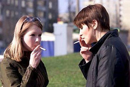 курение и  красота