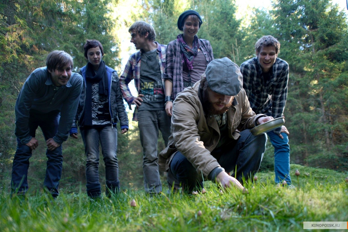 Секс в лесу по грибы 9 фотография