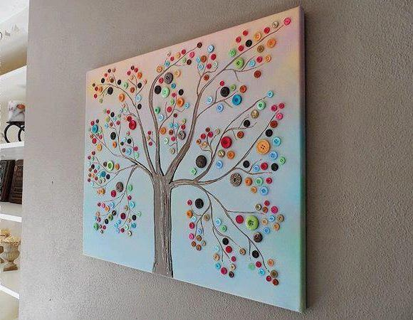 Красивое панно на стену своими руками