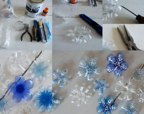 Новогодние украшения простые своими руками