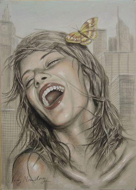 бесплатно смотреть фото рисованные девки