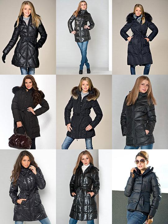 Верхняя Женская Одежда Осень-Зима 2012 Куртки