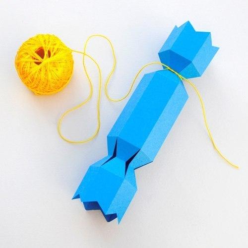 Конфетки из бумаги своими руками