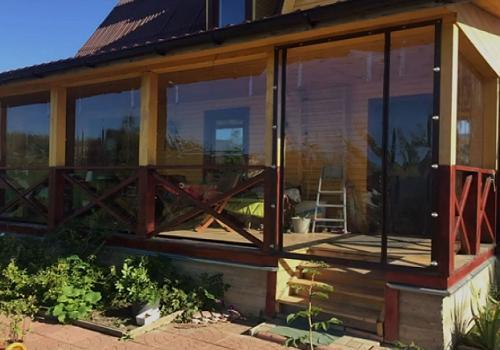 Мягкие окна от компании «Контур»