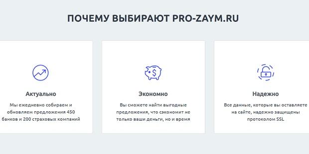 pro-zaym.ru выгодные кредиты для всех