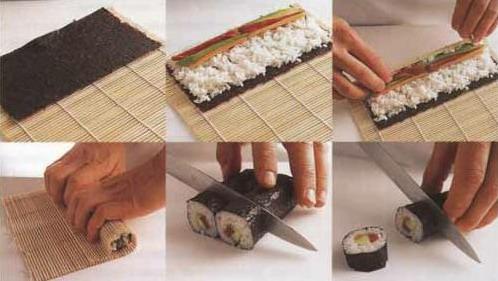 сделать суши в домашних условиях рецепты фото