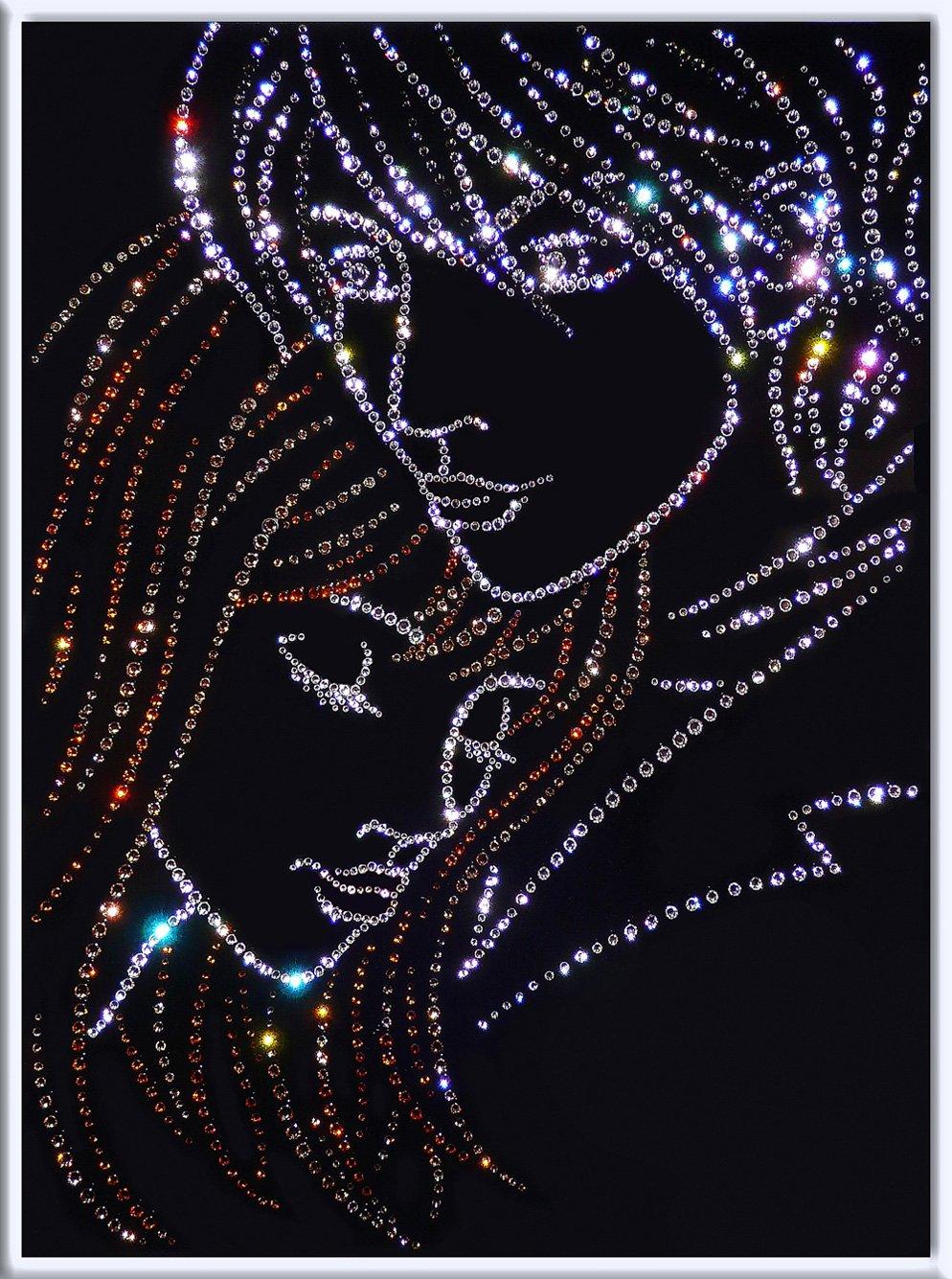 Картина со стразами сваровски своими руками
